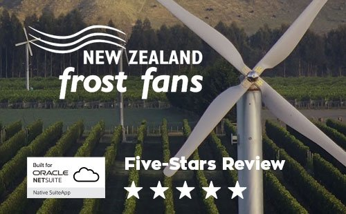 5-star review from New Zealand Frost Fans
