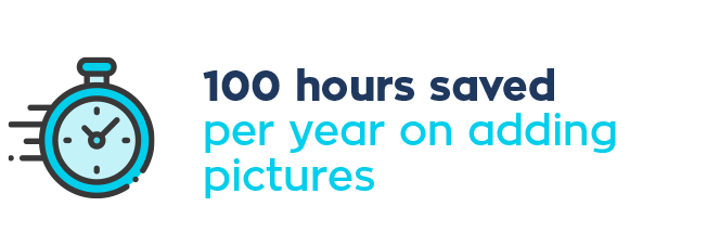 Eagle Point Solutions saves 100 hours per year on adding pictures