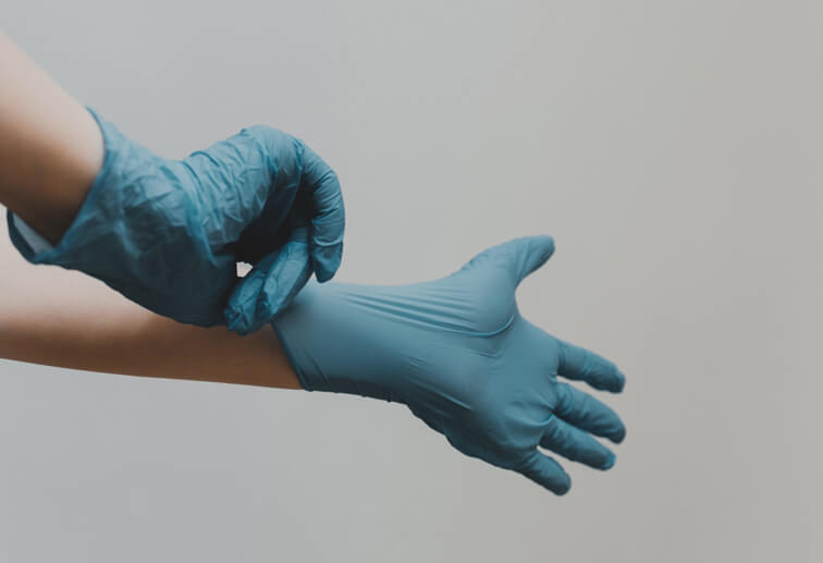 Sanitation Services - Cleaning Gloves