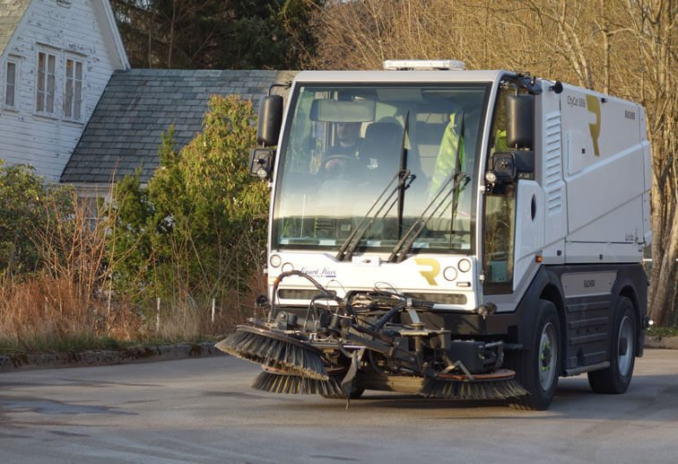 Sanitation Services - Street Sweeper